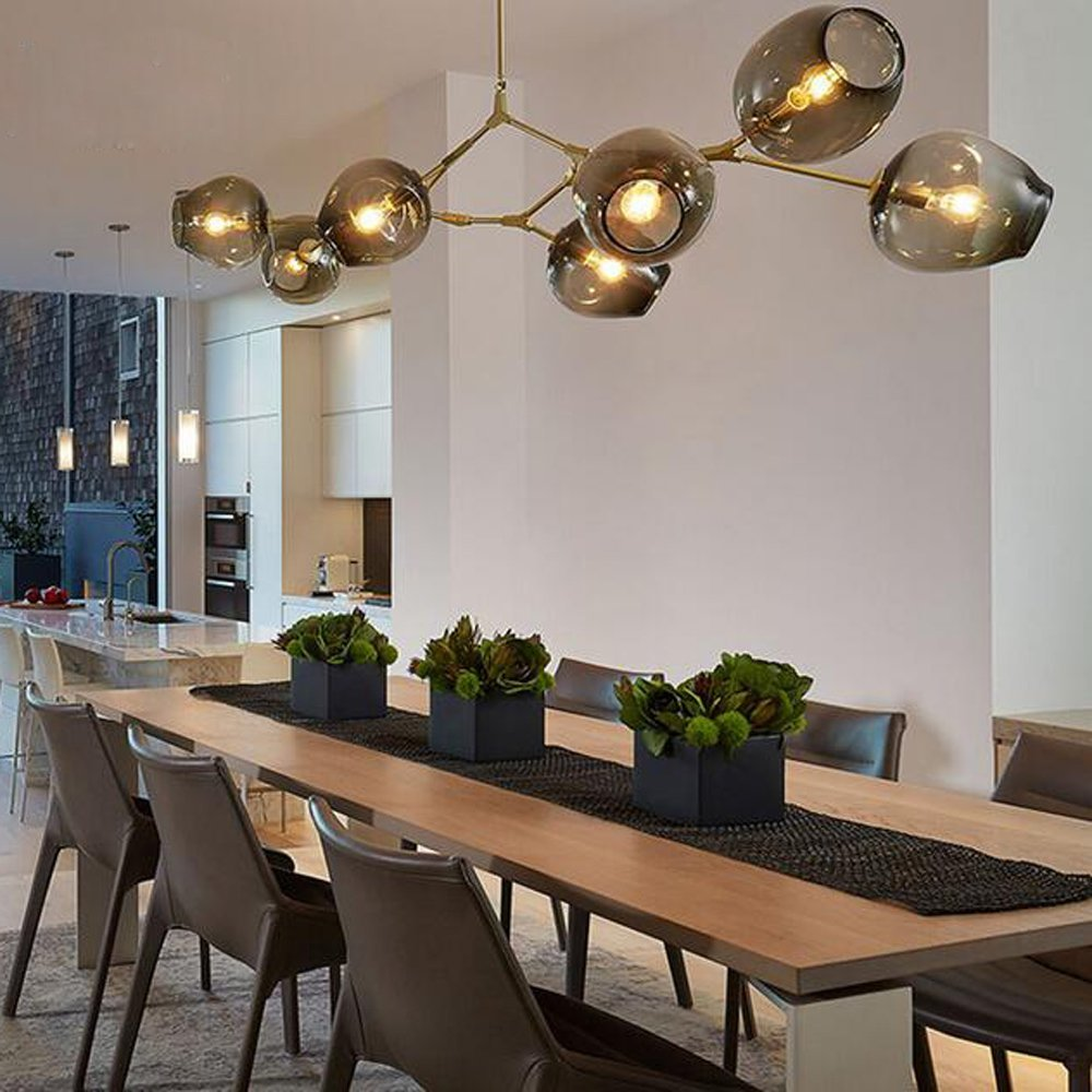 Shustar Modern Branching Bubble 1/3/5/7/8/9 heads Chandeliers for Coffee Bar Stair Dining Room suspension Fixtures Pendant Lamp