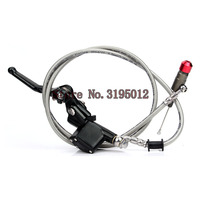 Hydraulic clutch 1200mm lever master cylinder for125 250cc Vertical Engine Off road Motorcycle Pit Dirt Bike Motocross