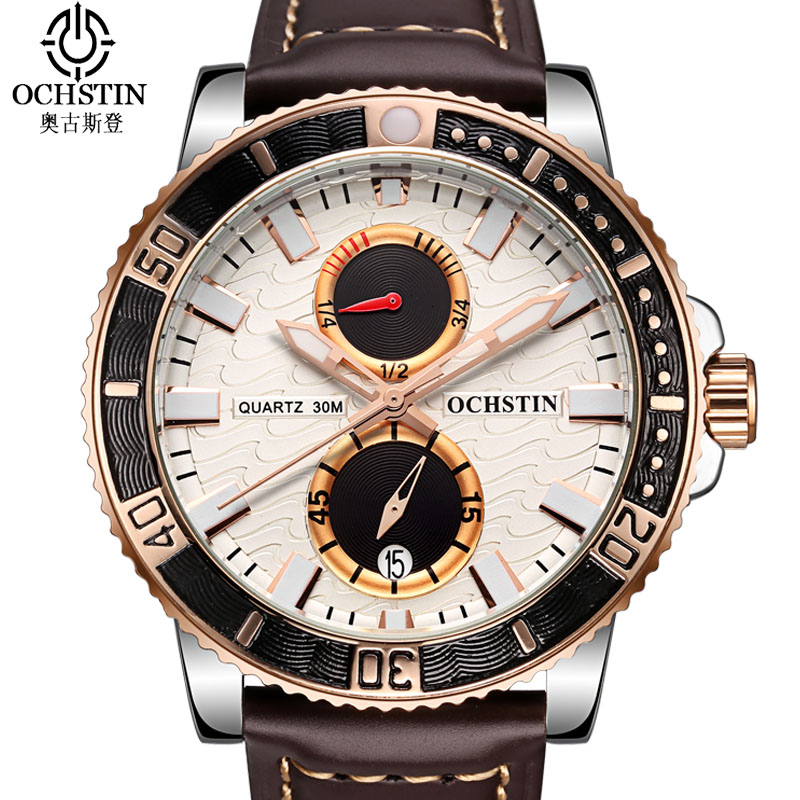 Ochstin Business Male Clock Casual Mens Watches Top Brand Luxury Watch Men Male Clock Luminous Quartz Watch Relogio Masculino nakzen men watches top brand luxury clock male stainless steel casual quartz watch mens sports wristwatch relogio masculino