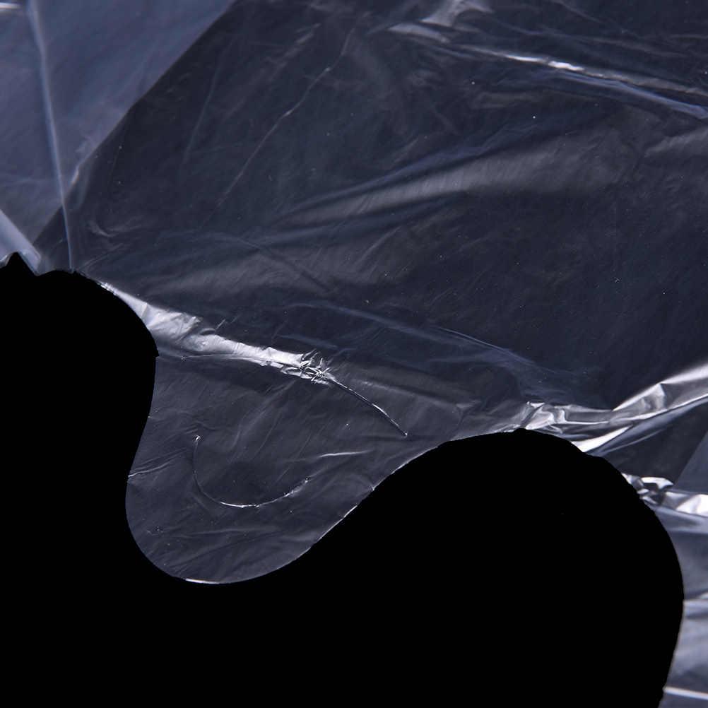 46 יח'\חבילה תכליתי לבן אפוד סגנון פלסטיק Carrier שקיות לשימוש חוזר מכולת שקיות אריזת 15*23cm סיטונאי