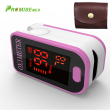 PRO-F4 with a bag Finger Pulse Oximeter,Heart Beat At 1 Min Saturation Monitor Heart Rate Blood Oxygen CE Approval-pink