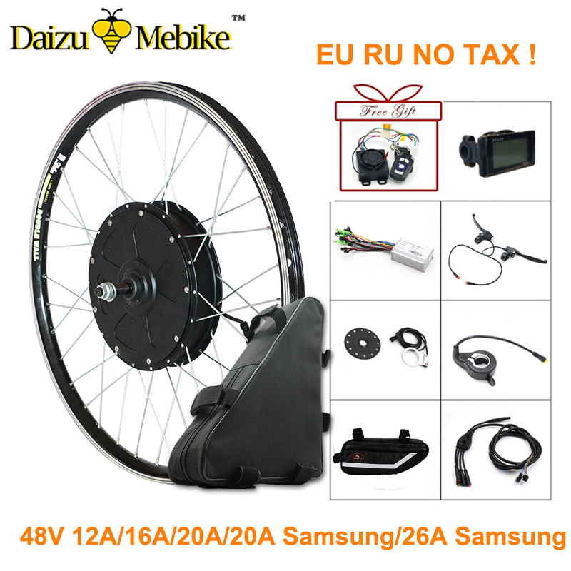 48 V 1000 W Electric Bike Conversion Kit 700C 26