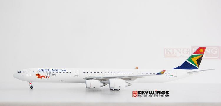 купить Phoenix 10598 * South African Airways ZS-SNG A340-600 Beijing 2012 1:400 commercial jetliners plane model hobby недорого