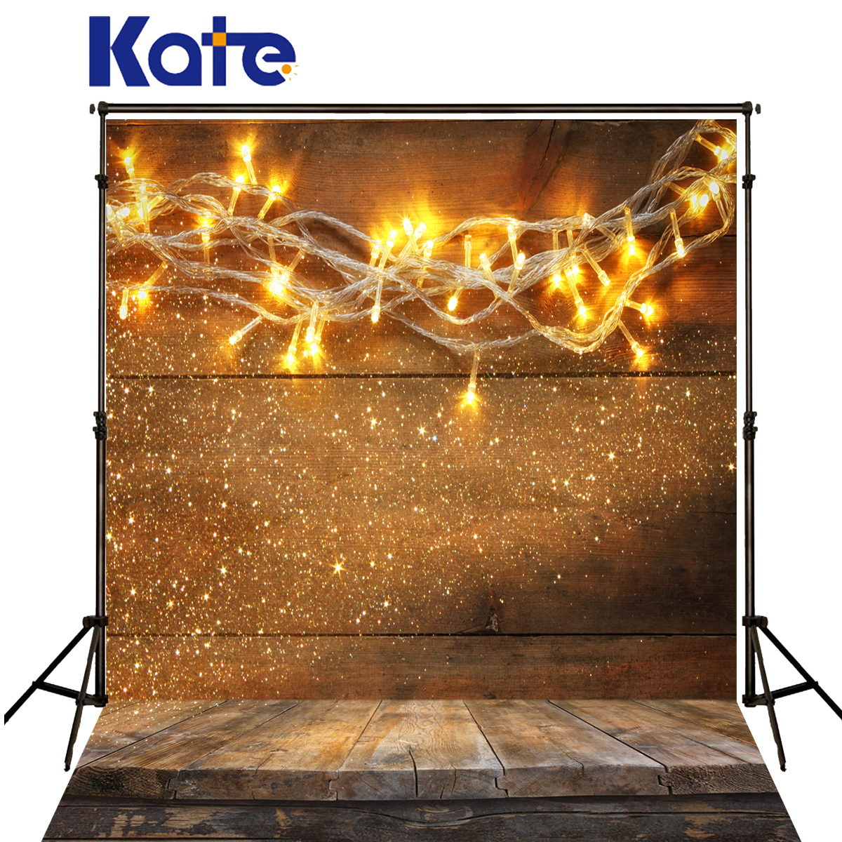 Kate Christmas Backgrounds Photo Colour Lights Spot Fundo Fotografico Madeira Dark Wood Texture Floor Backdrops For Photo Studio kate newborn baby backgrounds fotografia light wood wall fundo fotografico madeira old wooden floor backdrops for photo studio