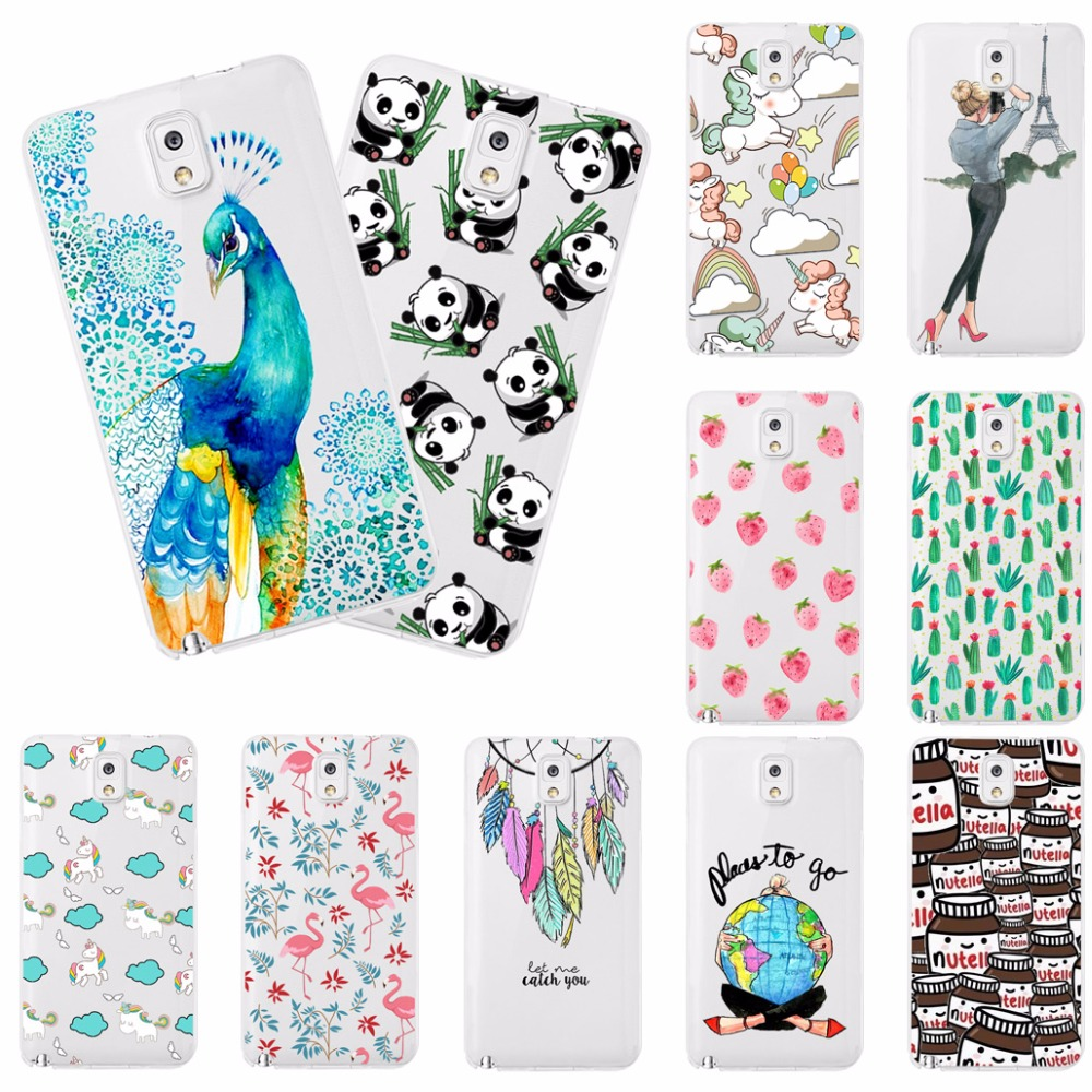 Young Fashion Phone Cases For Samsung Galaxy Note 3 Note3 N900 N9000 N9005 Soft Silicone ...