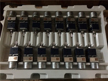 1 قطعة / الوحدة مقياس جهد ALPS الياباني الخاص RK27  نوع مزدوج مع مقياس جهد المحرك B100KX2 20 مللي متر مقبض طويل متوفر