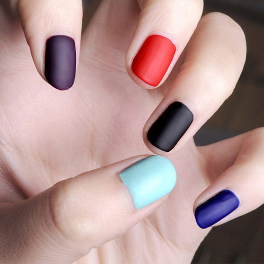 Frosted Surface Oil Hot Sale Vogue Nail Polish 1 pc 6ML Matte Nails ...