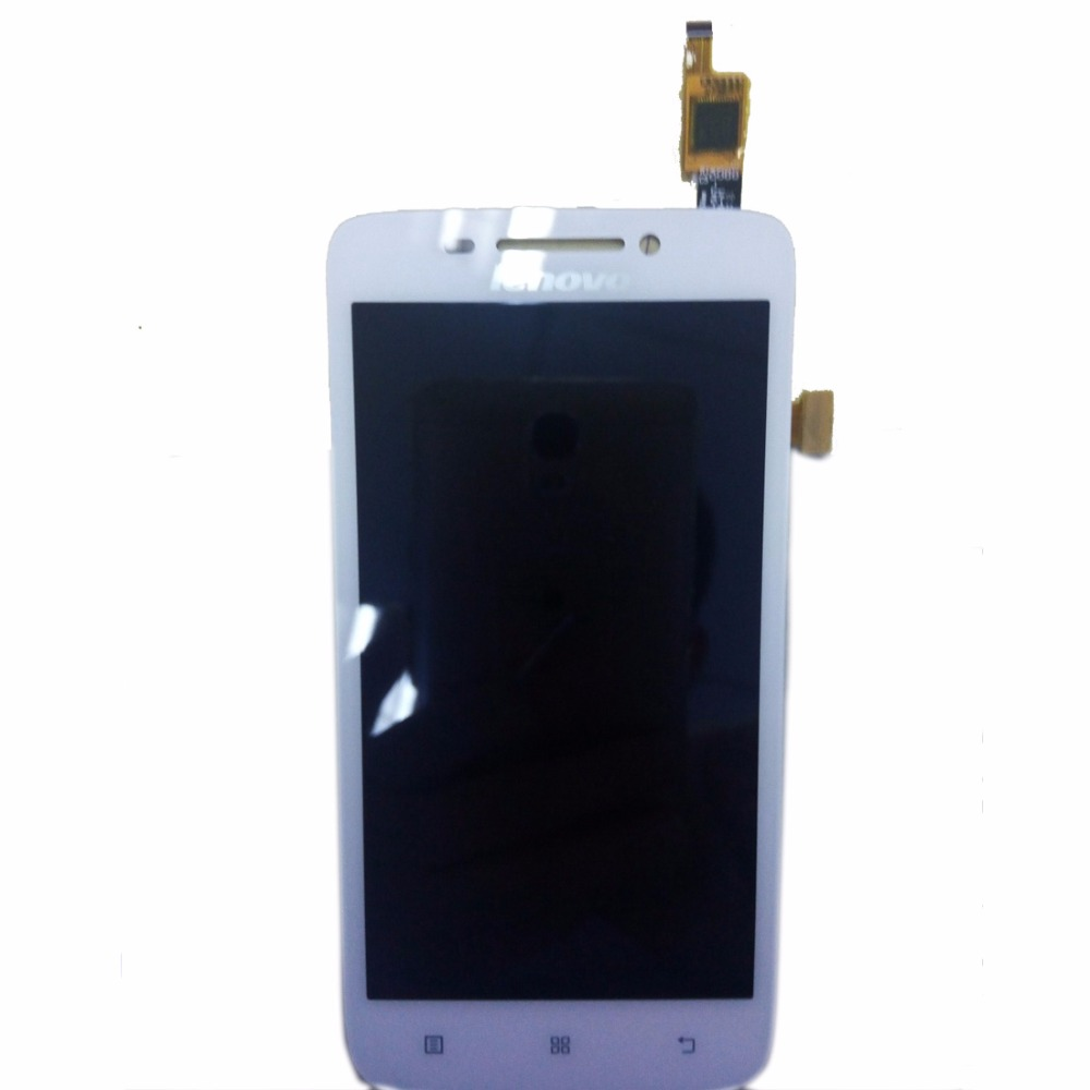 ФОТО Tested For Lenovo A8 LCD Display+Touch Screen Digitizer Assembly Sensor Complete Parts For Lenovo A806 A808 A808t Phone Replace
