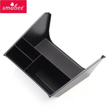 Smabee voiture Console centrale boîte pour Hyundai Creta 2014 ~ 2019 IX25 accessoires Central multifonction stockage palette conteneur boîte