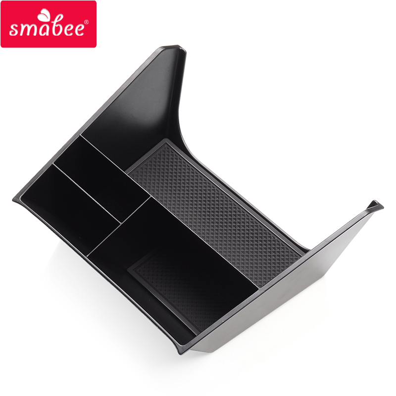 Smabee Car Center Console Box For Hyundai Creta 2014 ~ 2019 IX25 Accessories Central Multifunction Storage Pallet Container Box
