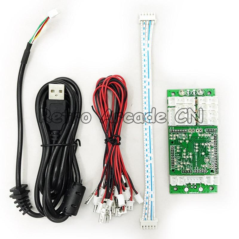 Fiel Ps4/ps3/pc Controlador Arcade Usb Joystick Botón Codificador Teclado Con Cable Cables