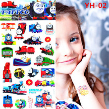 Lovely Children Thomas Temporary Tattoo Body Art Flash Tattoos 21 x 10 Centimeters Waterproof Tattoo Car Modelling Wall Stickers