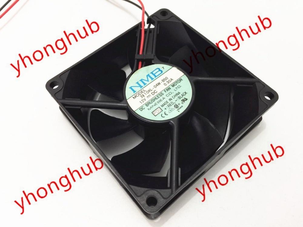 Бесплатная доставка для нмб 3110kl-04w-b50, P00 12 в постоянного тока В 0.30A 2-проводной 2-контактный разъем 80 мм 80 X 80 X 25 мм сервер площадь вентилятор