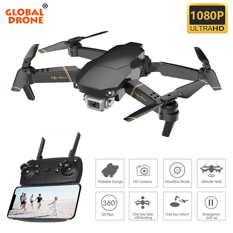 Global Drone EXA Quadcopter with Camera 1080P HD RC Drone X Pro Helicopter Mini Drone Quadrocopter
