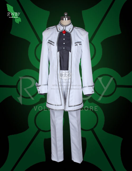 2016 James Ironwood Cosplay Costume From RWBY General Costume
