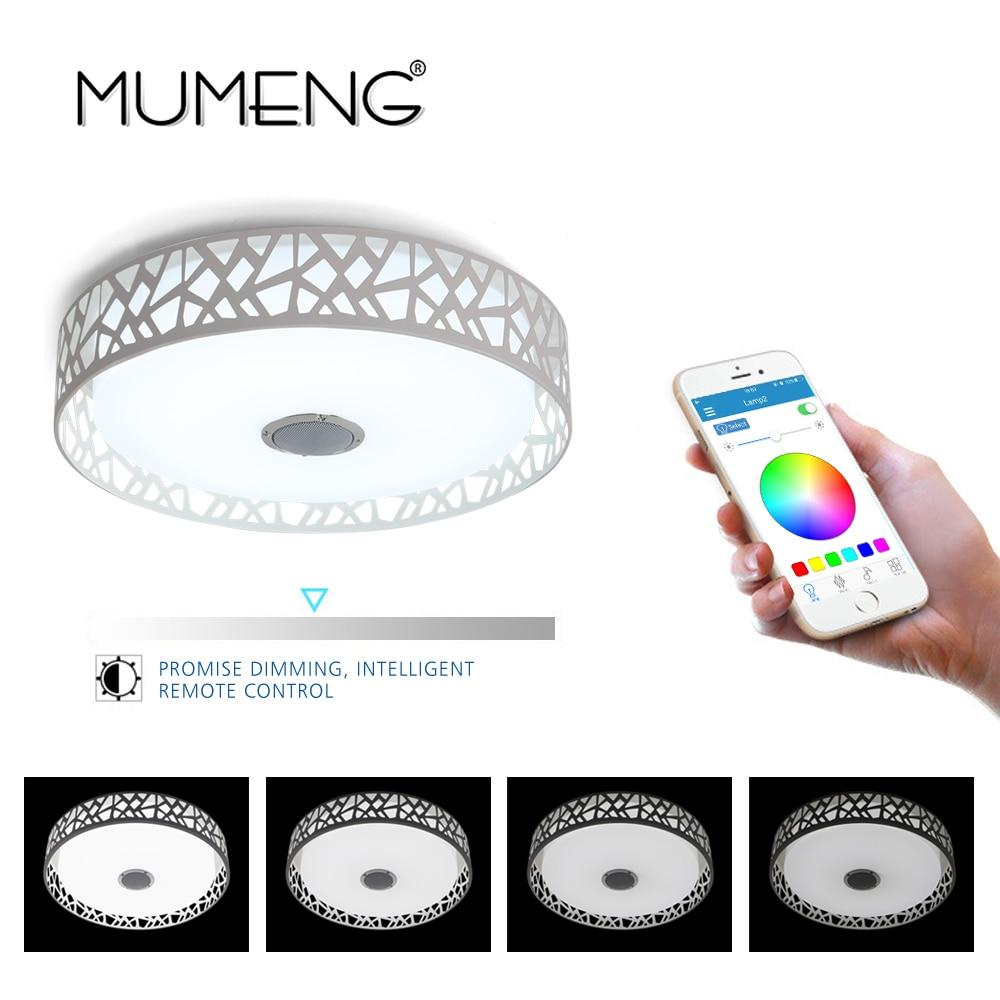 mumeng lampa sufitowa LED Możliwość ściemniania Sypialnia 36 W - Oświetlenie wewnętrzne - Zdjęcie 4