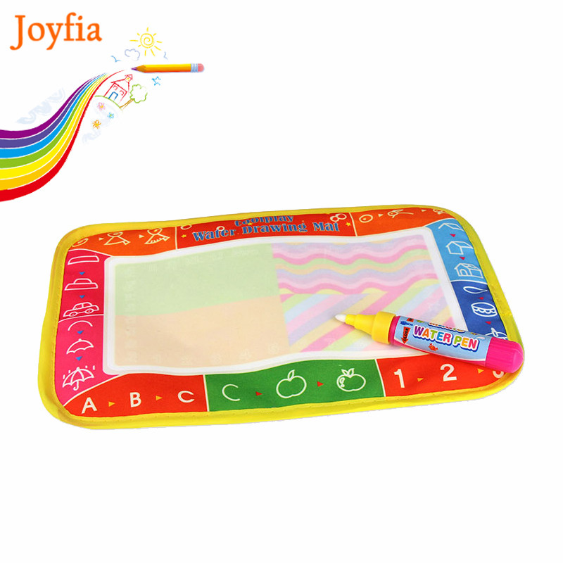 25*16.5cm Water Drawing Mat & Magic Pen Doodle Painting Board Water Drawing Toys Early Learning Educational Toys For Kids #