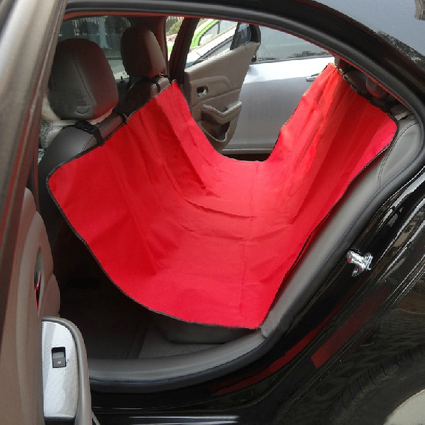 Pet Car Seat Cover Rear Back Seat Headrest Boot Waterproof Dog/cat Mat Hammock 148cm X 138cm Interior Accessories