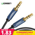 Ugreen Jack 3,5 Cable de Audio Cable de altavoz de 3,5mm línea de Cable Aux para iPhone 6 Samsung galaxy s8 coche de Xiaomi redmi 4x Jack de Audio