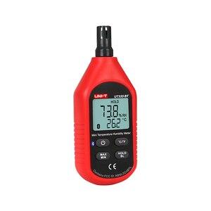 Image 4 - UNI T UT333BT Bluetooth Mini LCD Digital Air Temperature Humidity Meter Thermometer Hygrometer Gauge Tester UT333 Upgrade