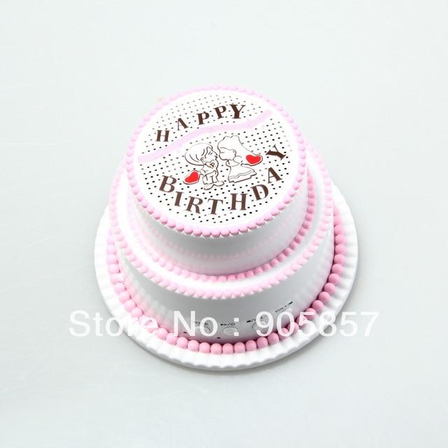 Happy Birthdaycake U Disktf Card Mini Portable Speaker System For