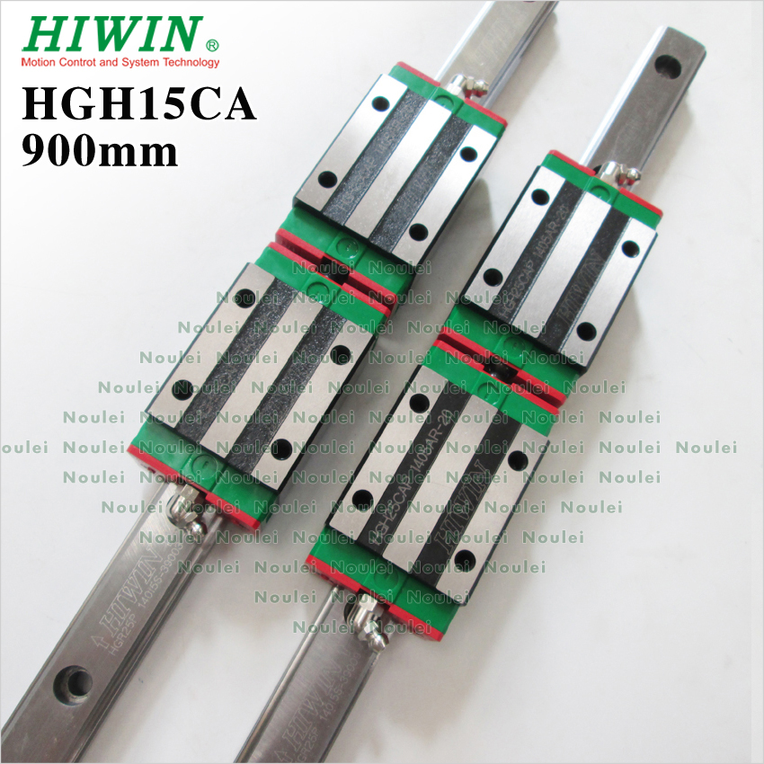 все цены на HIWIN HGH15CA slide block with 900mm linear guide rail 15mm HGR15 for CNC parts онлайн