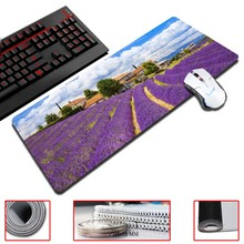 MaiYaCa Provence's finest scenery of the purple sea of clouds Gaming Mouse Pads 30×60/70/80/90cm Size Game Computer Desk Pads