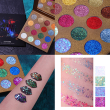 UCANBE 16 Shades Starry Shining Glitter Eye Shadow Paste Eye