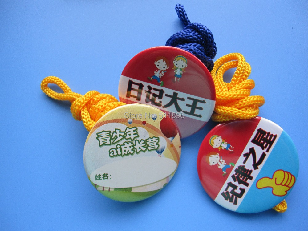ФОТО 100pcs customized products,pope tie,customized products 58mm pope tie ,Badge with rope MOQ 100pcs  ,accept OEM order