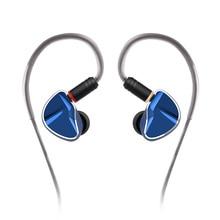 Yinyoo auriculares internos híbridos dinámicos con diafragma de grafeno D2B4 2DD + 4BA, 10mm, auriculares HIFI con Monitor de DJ y Cable actualizado