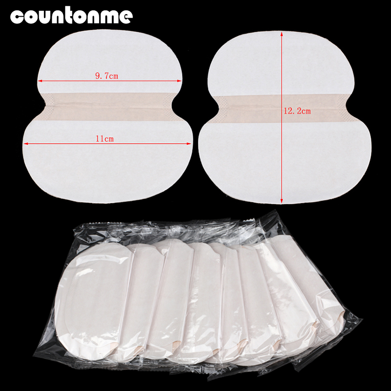 10/30/50Pcs Summer Dress Disposable Armpit Sweat Pad Big Size Absorbing Guards Keep Dry Sticker Prevent Antiperspirant Deodorant