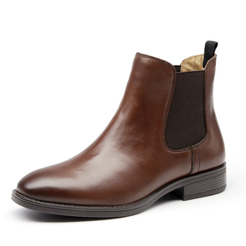 invierno 2018 Mujer Nuevo 3 Zapatos Mujeres Cm Las marrón Invierno Moda 1 El De Otoño Negro Martin Para Cm Genuino Bajo Cuero Botas 4xHHwXqY