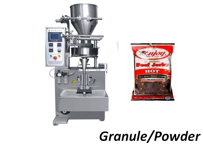 China Factory Price Automatic Granule Powder Vertical Pouch Packing Machine
