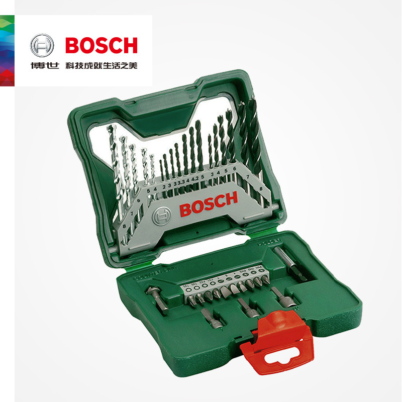 BOSCH Electric Tool Accessories 33 Bit Screwdriver Heads Percussive Drilling With Mixed Set Electric Screwdriver Accessories
