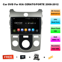HD 8 1024 600 Pixel Quad Core Android 5 1 1 Car DVD GPS For Kia