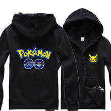 Spring Festival Jackets NEW Game Pokemon Go Hoodies Cosplay Jacket Coat clothes Sweater fashion fleece