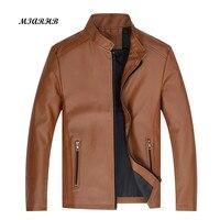 Sunfree Men Winter Leather Jacket Motorcycle Leather Jackets Male Business casual Coats Brand Clothing veste en cuir 3L45