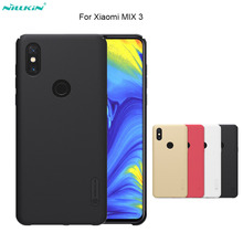 For xiaomi mix 3 case Nillkin Super Frosted Shield Case Back Cover PC Hard matte Plastic Back Protective Cases For xiaomi mix 3 стоимость
