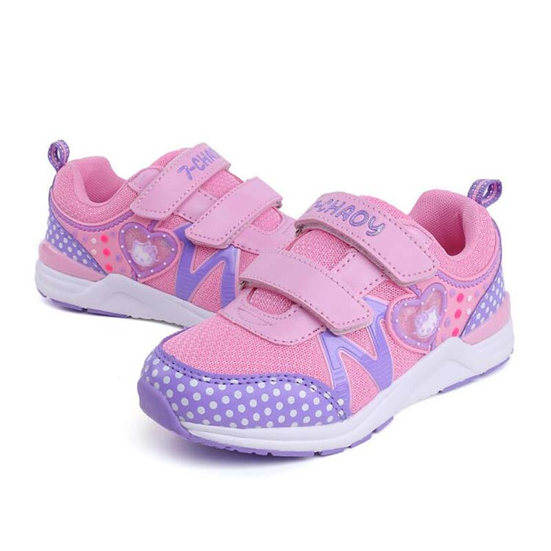 Unisex Children Mesh Shoes For Kid Boys Girls KT Breathable Casual Shoes Kids School Shoes #8 Size Euro 26-36 Autumn 2018