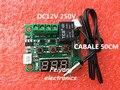 1 PCS W1209 DC 12 V calor temperatura fria termostato switch controle de temperatura controlador de temperatura termômetro controlador thermo 50 CM