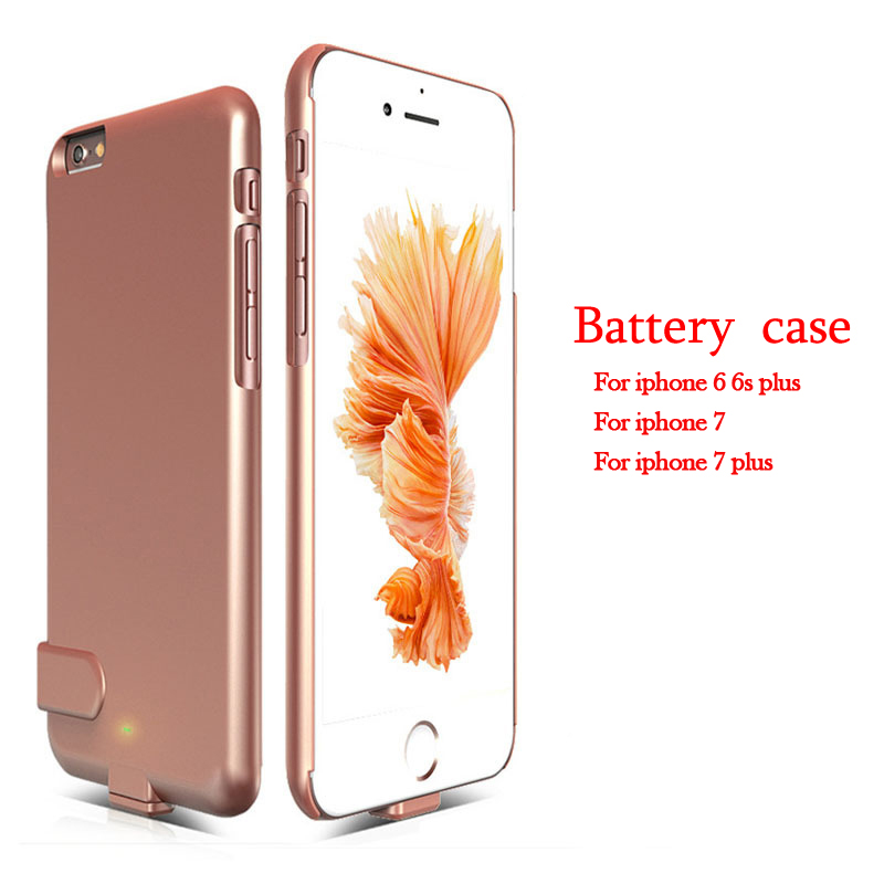 Ultrathin Battery phone case for Apple iPhone6 6s 7 plus Backup Charger Cover for iphone 6