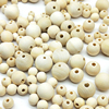 DIY 6/8/10/12/14/16/18mm Cheap Fashion Hot Beads Natural Round Loose Wood Beads for Jewelry Making Bracelet Necklace Accessories 1
