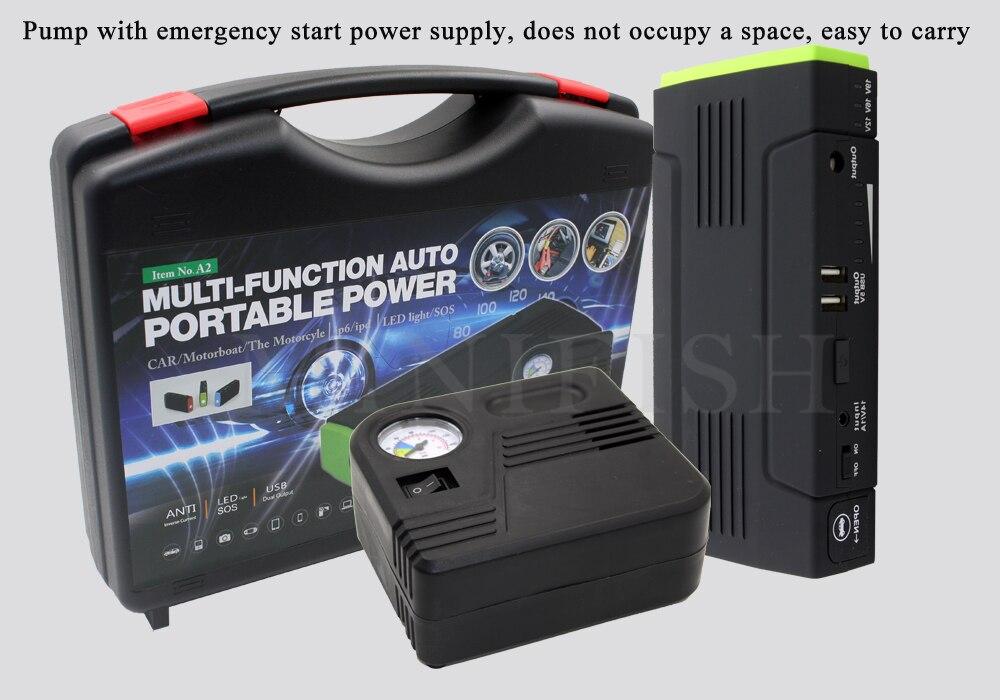 Compact jump starter 12V pocket jump starter Car Jump Starter With Air Compressor блюдечко jump ceramics