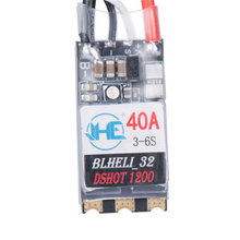 40A 3-6S Blheli 32 Brushless ESC Dshot1200 Ready RGB LED for RC Models Multicopter FPV Racing DIY Spare Part Accs VS Racerstar racerstar shot30a esc 30a 30amp 3 6s 4 in 1 blheli s bb2 dshot600 integrated current voltage sensor for rc racing drone dron