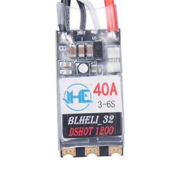 цена на 40A 3-6S Blheli 32 Brushless ESC Dshot1200 Ready RGB LED for RC Models Multicopter FPV Racing DIY Spare Part Accs VS Racerstar