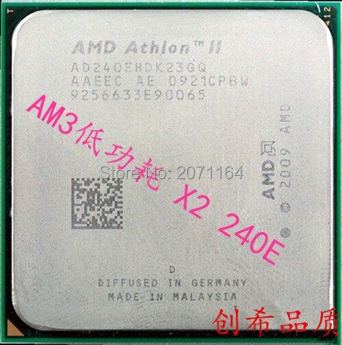Бесплатная доставка для AMD am3 240e Athlon II X2 938 с низким энергопотреблением 45 Вт Duo настольный компьютер CPU