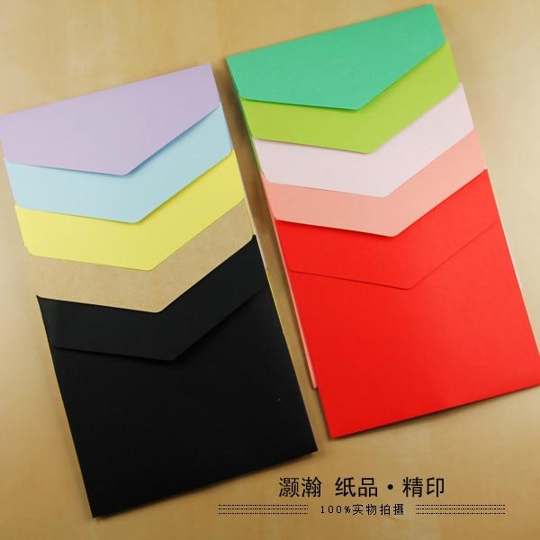 Square Envelopes Paper Envelopes 15.8*15.8 Cm Color Envelopes 100PCS