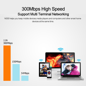 Image 4 - Tenda N300 Wireless Router, 2 * 5dbi 300Mbps Wi Fi Repeater,support WISP/Universal Repeater/AP Mode/Wireless switch, Easy Setup