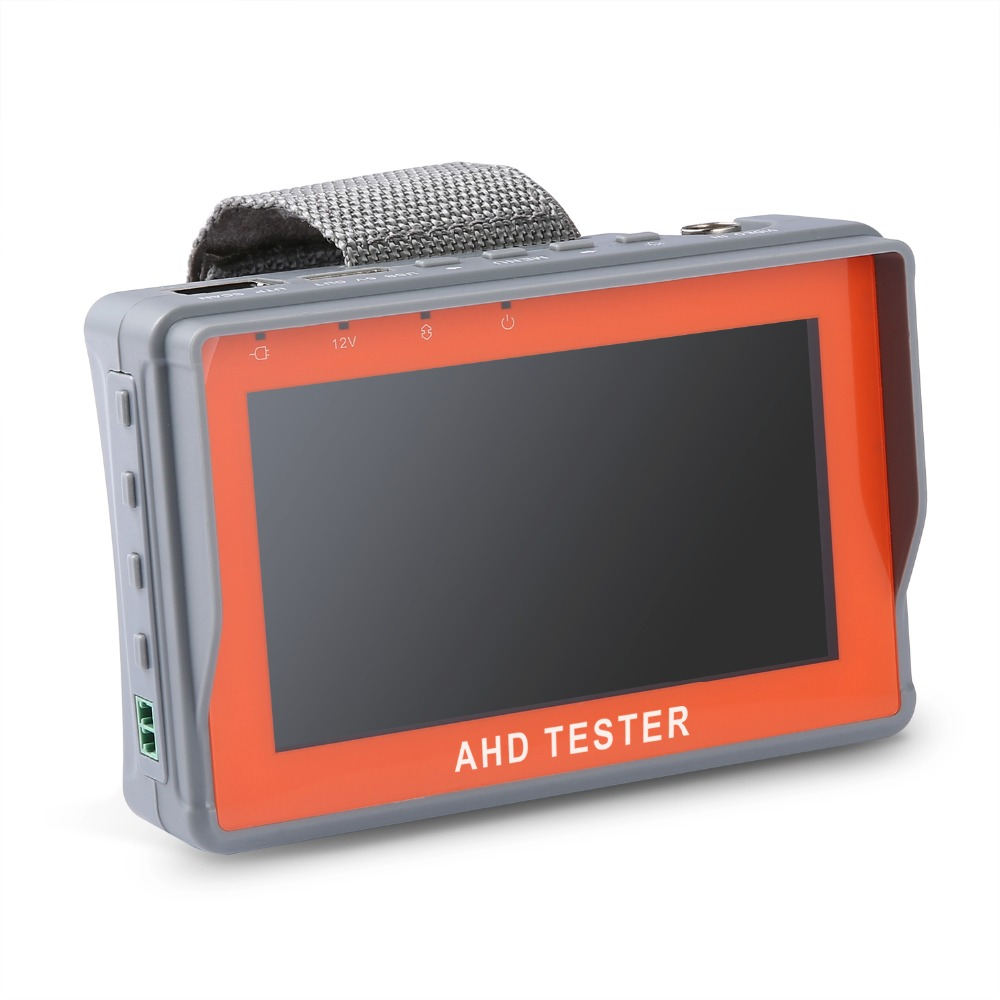 ANNKE 4.3 Inch HD AHD CCTV Tester Monitor AHD 1080P Analog Camera Testing PTZ UTP Cable Tester 12V1A Output st4000pro with ce certification factory provide cctv camera tester monitor