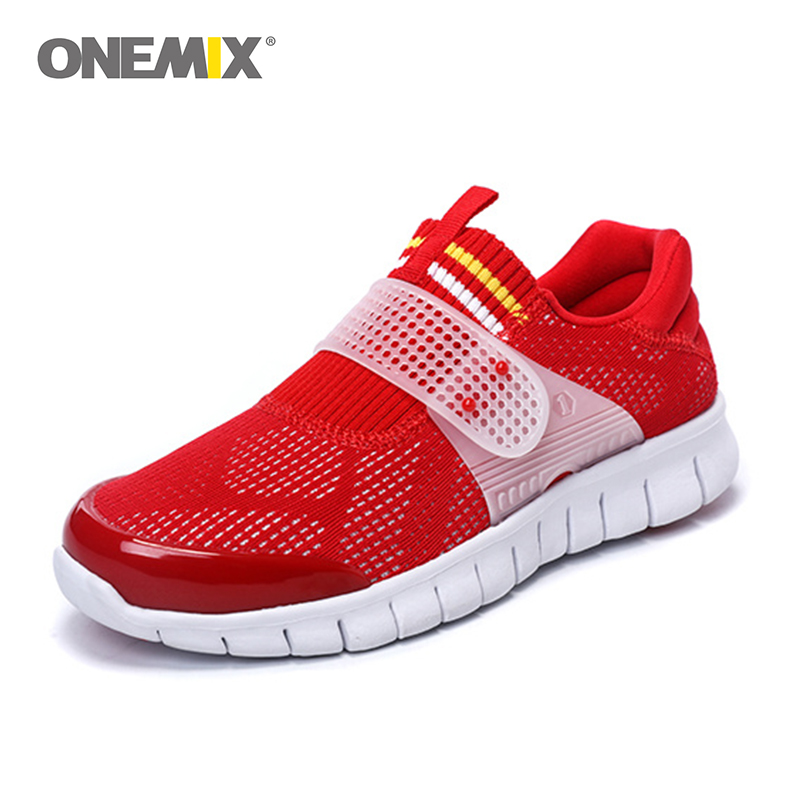 Onemix new arrival men sport shoe cool athletic shoes breathable running shoes for women super light walking shoes size36-45